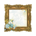 Kaisercraft - Marigold Collection - 12 x 12 Die Cut Paper with Varnish Accents - Ornate