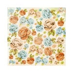 Kaisercraft - Marigold Collection - 12 x 12 Paper with Varnish Accents - Buttercup