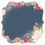 Kaisercraft - Lulu and Roy Collection - 12 x 12 Die Cut Paper with Varnish Accents - Floral
