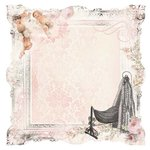 Kaisercraft - Bundle of Joy Collection - 12 x 12 Die Cut Paper - It's a Girl