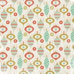 Kaisercraft - Mistletoe Collection - Christmas - 12 x 12 Paper with Glossy Accents - Decorations
