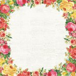 Kaisercraft - Tropical Punch Collection - 12 x 12 Paper with Glossy Accents - Rosewater