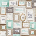 Kaisercraft - Blue Bay Collection - 12 x 12 Paper with Glossy Accents - Azure