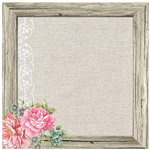 Kaisercraft - Oh So Lovely Collection - 12 x 12 Paper with Glossy Accents - Mademoiselle