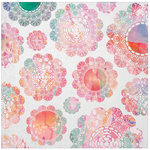 Kaisercraft - Chase Rainbows Collection - 12 x 12 Paper with Glossy Accents - Ombre