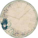 Kaisercraft - Betsy's Couture Collection - 12 x 12 Die Cut Paper - Babydoll