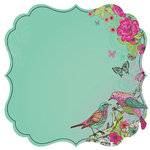 Kaisercraft - Fly Free Collection - 12 x 12 Die Cut Paper - Friendship
