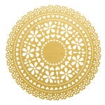 Kaisercraft - A Touch of Gold Collection - 12 x 12 Die Cut Paper with Foil Accents - Doily