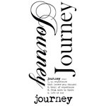 Kaisercraft - Rub Ons - Word - Journey