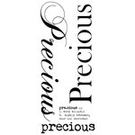 Kaisercraft - Rub Ons - Word - Precious