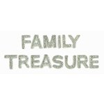 Kaisercraft - Sparklets - Words - Family and Treasure
