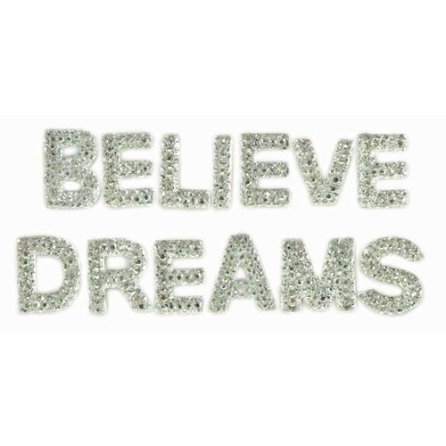 Kaisercraft - Sparklets - Words - Believe and Dreams