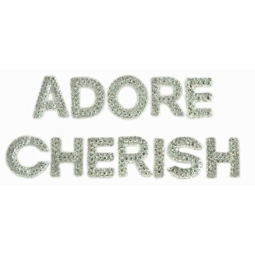 Kaisercraft - Sparklets - Words - Cherish and Adore