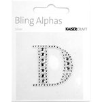Kaisercraft - Bling Alphas Collection - Self Adhesive Monogram - Letter D