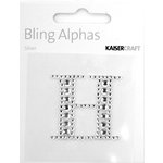 Kaisercraft - Bling Alphas Collection - Self Adhesive Monogram - Letter H