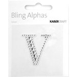 Kaisercraft - Bling Alphas Collection - Self Adhesive Monogram - Letter V