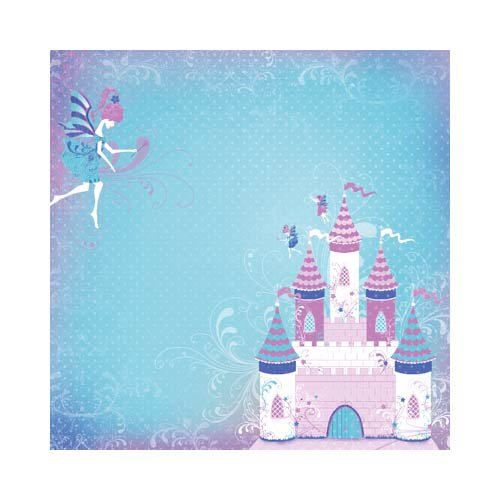 Kaisercraft - Fairytales Collection - 12 x 12 Scrapbook Album