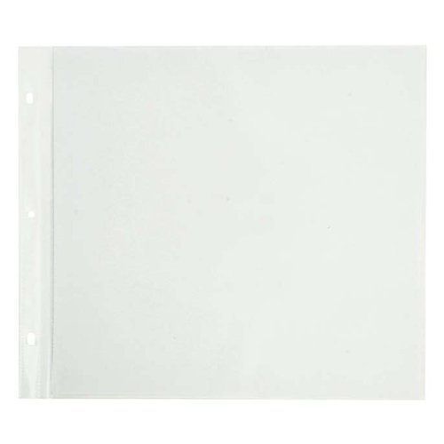 Kaisercraft - Page Protectors - 12 x 12 D-Ring Album Refills - 10 Pack