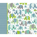Kaisercraft - Little One Collection - Boy - 12 x 12 D-Ring Album