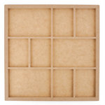 Kaisercraft - Beyond the Page Collection - Nine Frame Photo Display