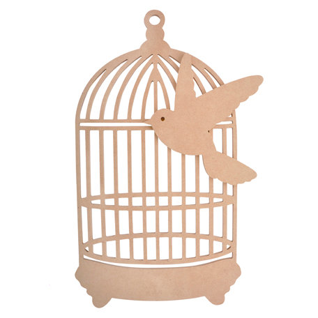 Kaisercraft - Beyond the Page Collection - Traditional Birdcage
