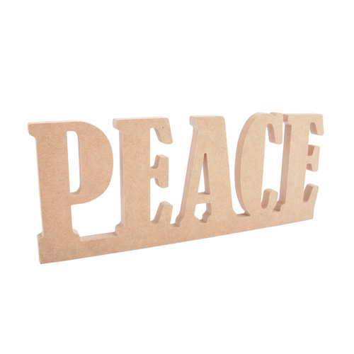 Kaisercraft - Beyond the Page Collection - Christmas - Standing Word - Peace