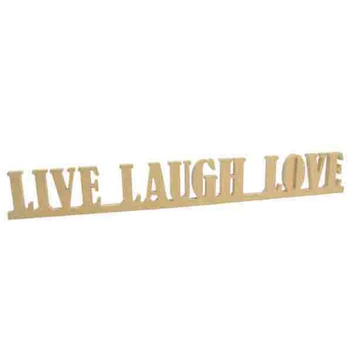 Kaisercraft - Beyond the Page Collection - Live, Laugh, Love Standing Words