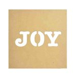 Kaisercraft - Beyond the Page Collection - Joy Silhouette Wall Art