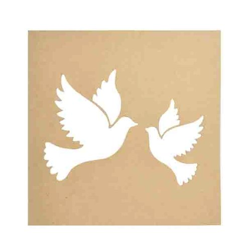 Kaisercraft - Beyond the Page Collection - Doves Silhouette Wall Art