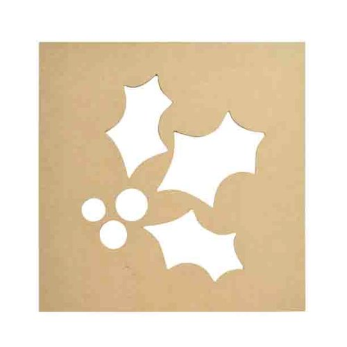 Kaisercraft - Beyond the Page Collection - Holly Silhouette Wall Art