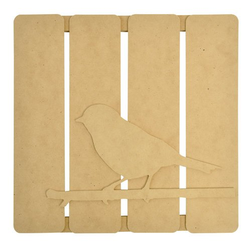 Kaisercraft - Beyond the Page Collection - 3 Dimensional Wall Art - Bird on Twig