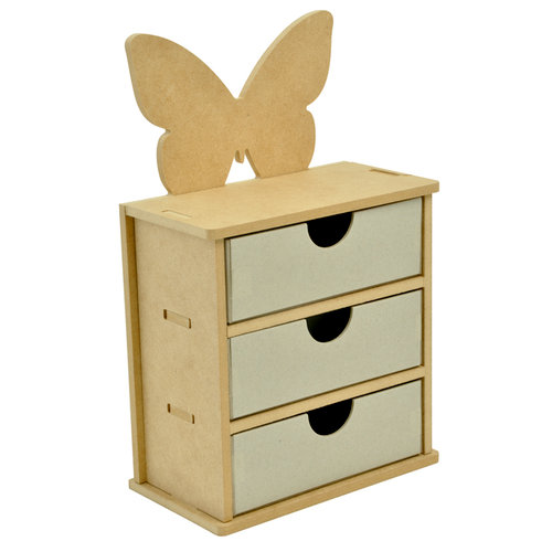 Kaisercraft - Beyond the Page Collection - Butterfly Drawers