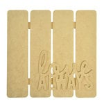 Kaisercraft - Beyond the Page Collection - 3 Dimensional Wall Art - Love Always