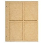 Kaisercraft - Beyond the Page Collection - 4 Window Display Album with 10 Pockets