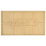 Kaisercraft - Beyond the Page Collection - Large Family Frame
