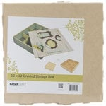 Kaisercraft - Beyond the Page Collection - 12 x 12 Divided Storage Box