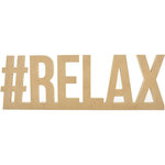 Kaisercraft - Beyond the Page Collection - Standing Word - Hashtag Relax