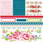 Kaisercraft - Miss Nelly Collection - 12 x 12 Sticker Sheet