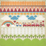 Kaisercraft - Cock-a-doodle-doo Collection - 12 x 12 Sticker Sheet - Farm