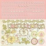 Kaisercraft - Lil' Primrose Collection - 12 x 12 Sticker Sheet - Diva