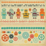 Kaisercraft - Technologic Collection - 12 x 12 Sticker Sheet - ESC