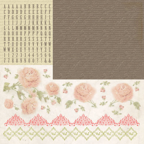 Kaisercraft - Charlottes Dream Collection - 12 x 12 Sticker Sheet