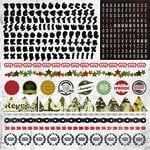 Kaisercraft - Attitude! Collection - 12 x 12 Sticker Sheet