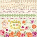 Kaisercraft - Flora Delight Collection - 12 x 12 Sticker Sheet