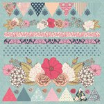 Kaisercraft - Lulu and Roy Collection - 12 x 12 Sticker Sheet