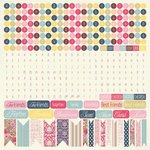 Kaisercraft - Lulu and Roy Collection - 12 x 12 Sticker Sheet - Alphabet