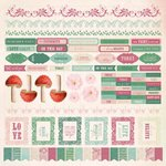 Kaisercraft - Enchanted Garden Collection - 12 x 12 Sticker Sheet