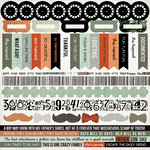 Kaisercraft - Mister Fox Collection - 12 x 12 Sticker Sheet