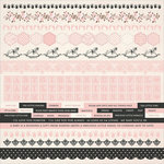 Kaisercraft - Pitter Patter Collection - 12 x 12 Sticker Sheet - Girl