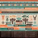 Kaisercraft - Outdoor Trail Collection - 12 x 12 Sticker Sheet